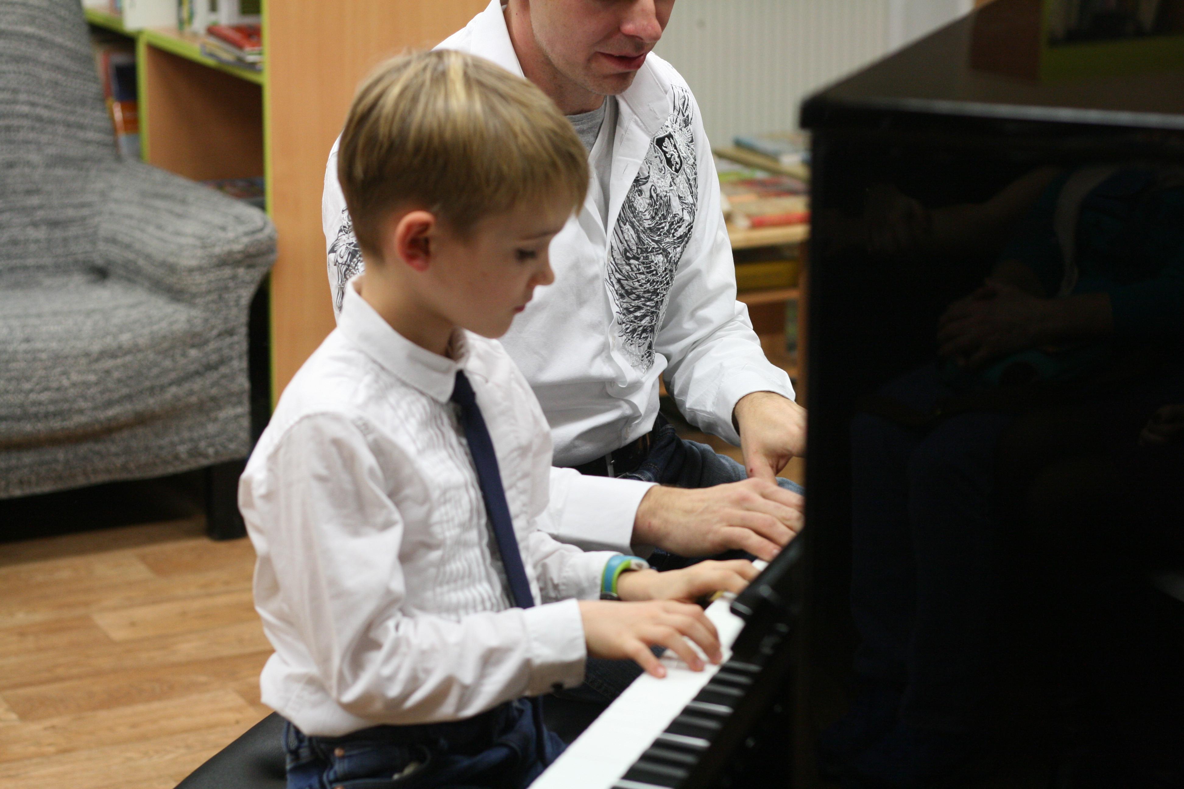 První klavírní besídka