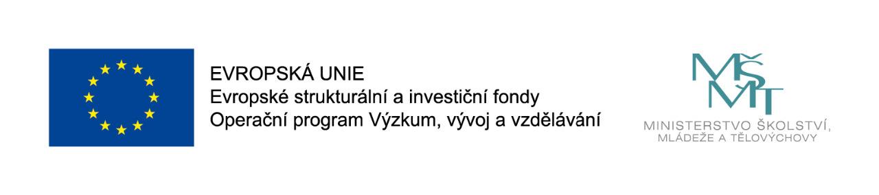 Projekt ŠABLONY II.